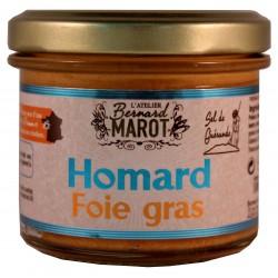 HOMARD au Foie Gras & Sel...