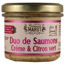 Duo SAUMONS Crème fraîche &...