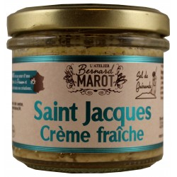 SAINT JACQUES à la Crème...